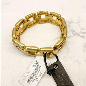 [NWT] J. Crew Brushed Gold Bracelet (See Set)